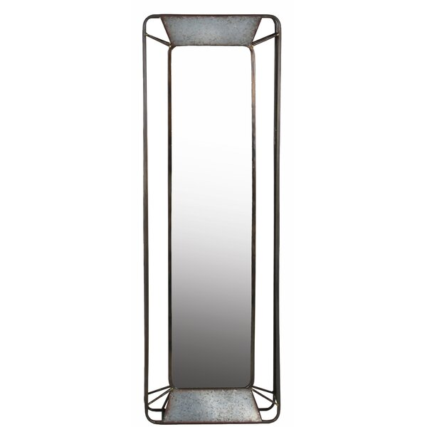 Herrell Iron Rectangular Wall Mirror by Williston Forge