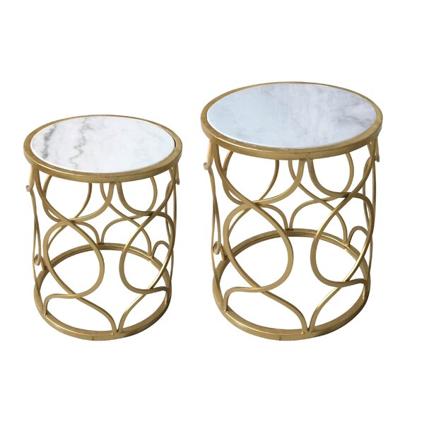 Willbanks 2 Piece Nesting Tables by Mercer41