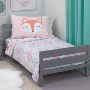 Beautiful Puppy Toddler Bedding | Wayfair NI94