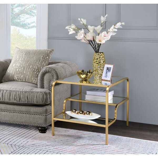 Ayaan End Table by Everly Quinn Everly Quinn