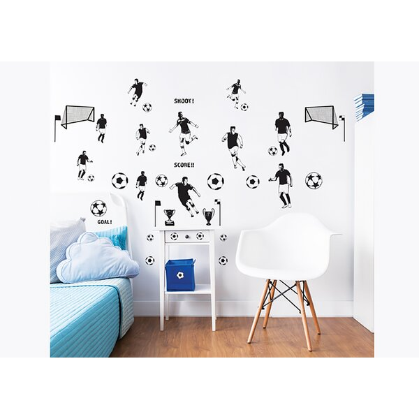 Football 40 Piece Wall Decal Set by WallPops!