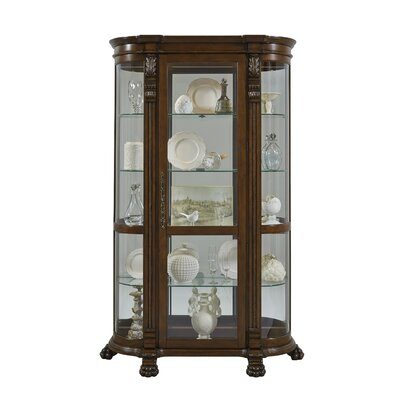 Murillo Lighted Curio Cabinet by Darby Home Co