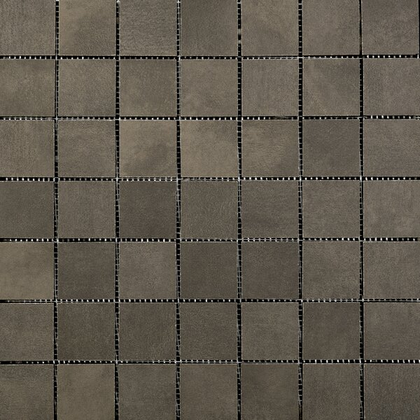 Cosmopolitan 2 x 2 Porcelain Mosaic Tile in Earth by Emser Tile