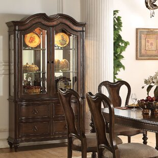 Wentzel Lighted China Cabinet