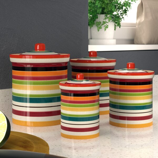 Kitchen Canister Set Set Of 4 By Zipcode Design.