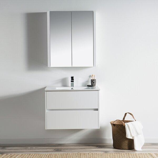 Oquendo 30 Wall-Mounted Single Bathroom Vanity Set with Medicine Cabinet by Orren Ellis