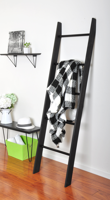 Furniture Home & Kitchen Wrought 20.20 ft Blanket Ladder pubfactor.ma