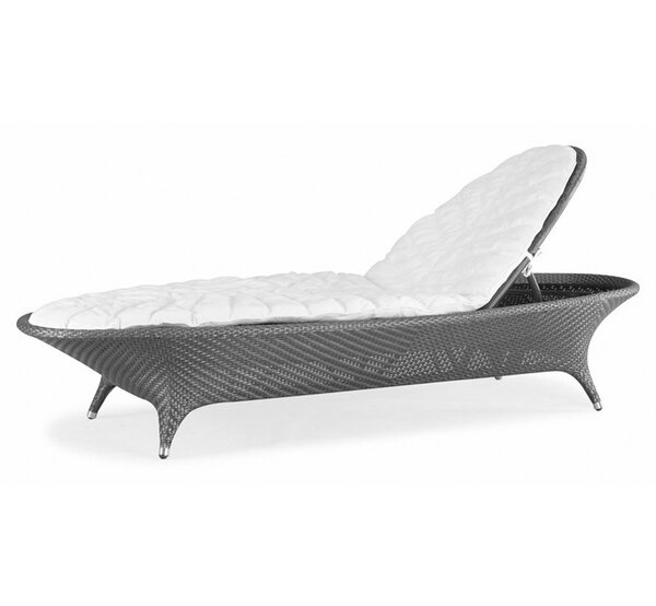 Flora Chaise Lounge with Cushions by 100 Essentials