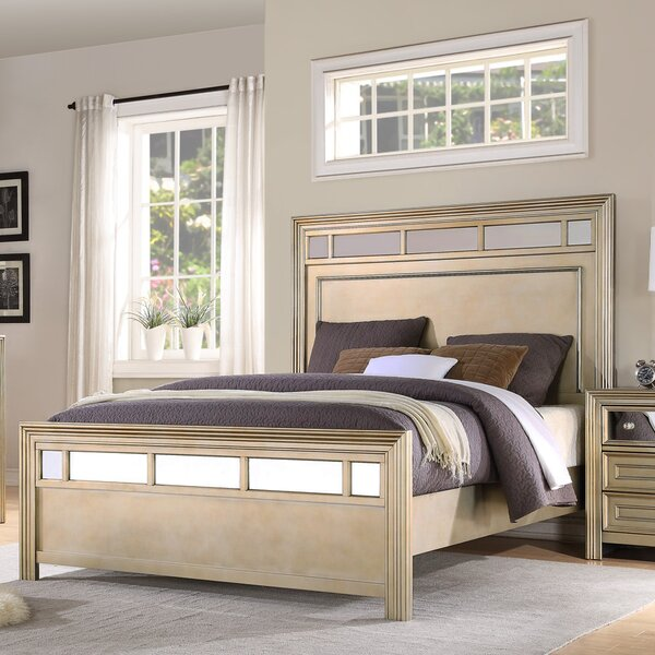 Champagne Standard Bed by Fairfax Home Collections