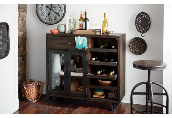 Evie Trolley Bar Cabinet by Williston Forge