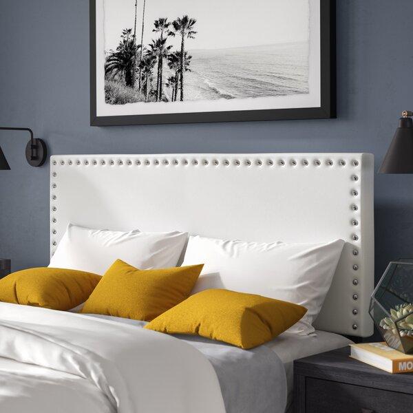 Clymer Upholstered Panel Headboard by Mercer41
