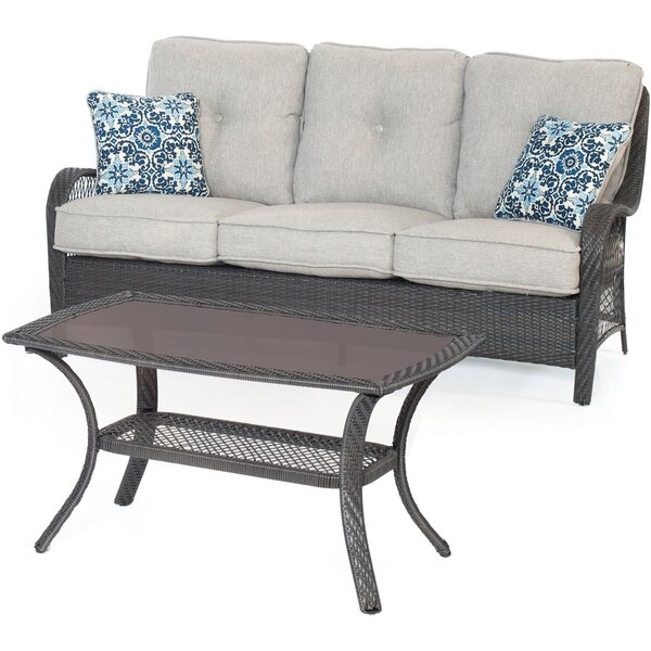 Innsbrook 2-Piece Sofa Set with Cushions by Alcott Hill