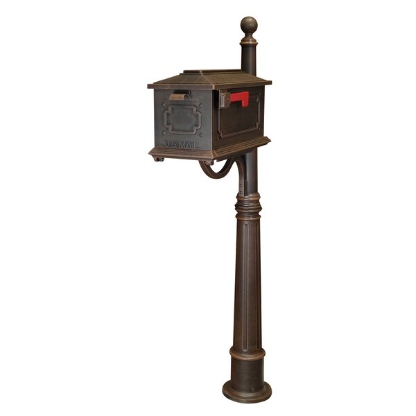 Kingston Mailbox with Post Included by Special Lite Products