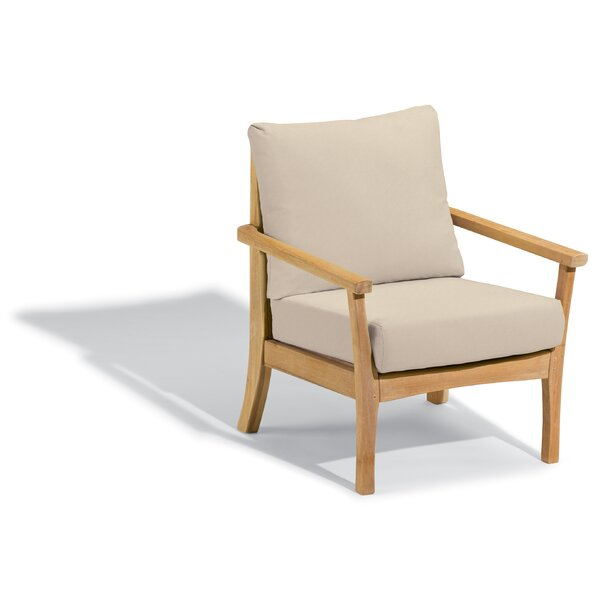 Huggins Patio Chair with Cushions by Highland Dunes