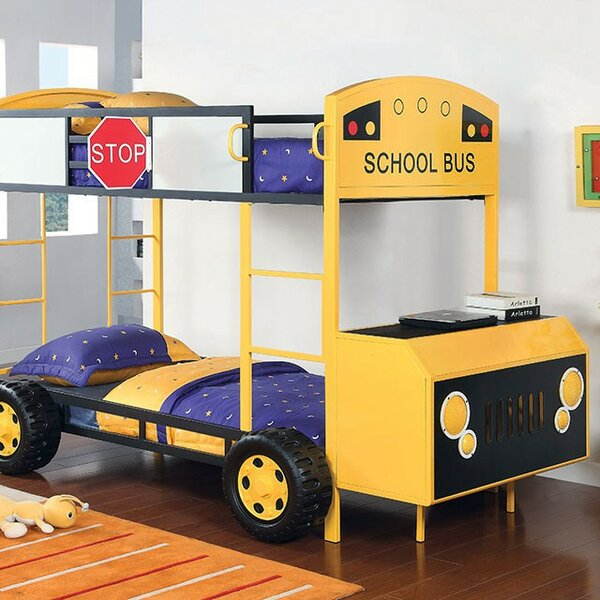 Worrell Twin over Twin Bunk Bed by Zoomie Kids