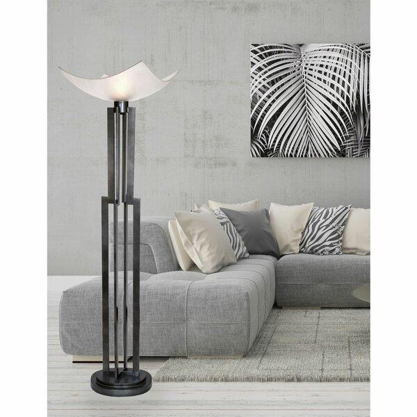 Latrobe 74 Torchiere Floor Lamp by Latitude Run