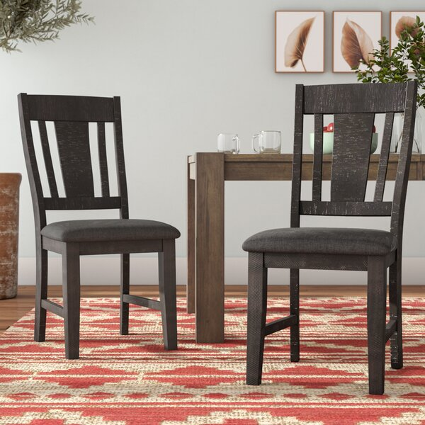 Sorrentino Upholstered Dining Chair (Set of 2) by Millwood Pines