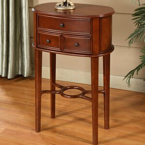 Asheville Cherry End Table by Darby Home Co