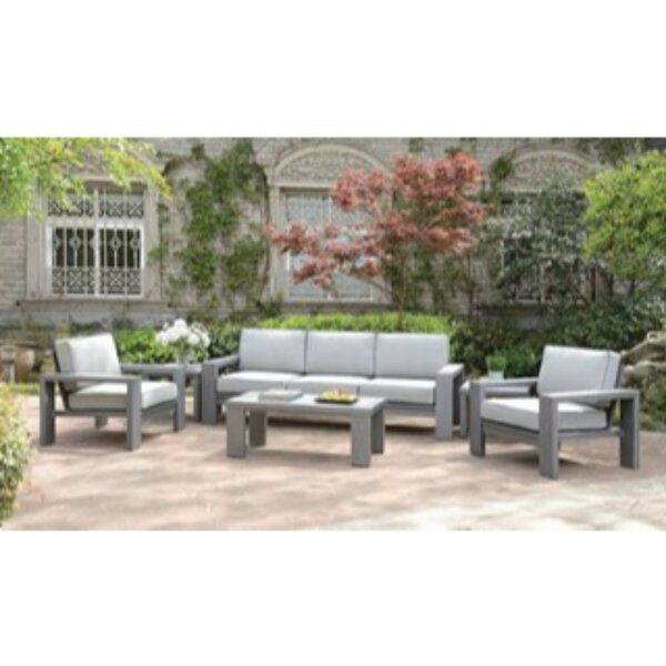 Northwich 6 Piece Sofa Seating Group with Cushions
