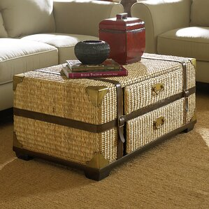 rattan & wicker coffee tables you'll love   wayfair