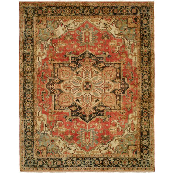 Jules Serapi Terracotta Area Rug by Shalom Brothers