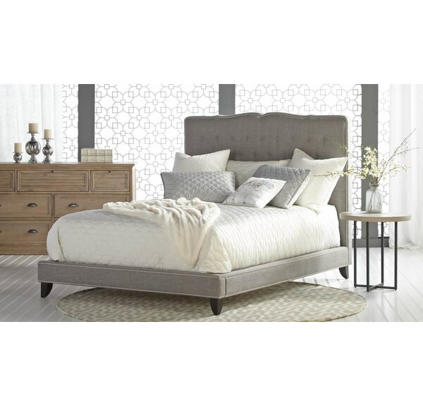 Whipkey Upholstery Bed by Gracie Oaks