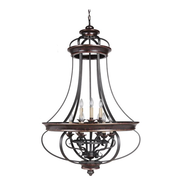 Westerfield 9-Light Candle Style Empire Chandelier by Astoria Grand Astoria Grand