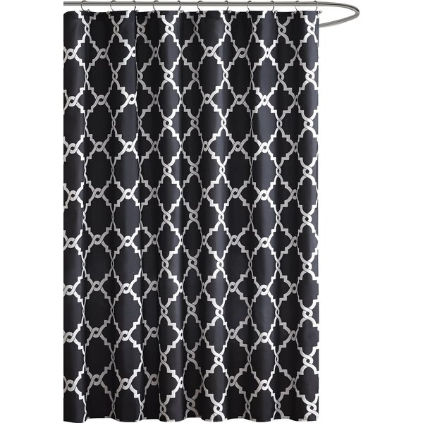 Alta Microfiber Shower Curtain by Zipcode Design