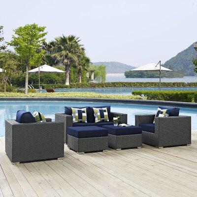 Brayden Studio Sunbrella Sofa Set Cushions Fabric Seating Groups