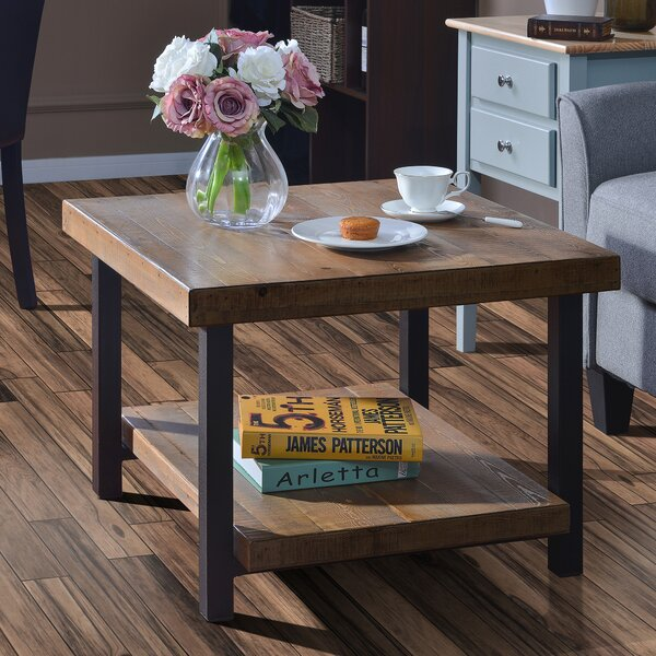 Olivas Solid Wood Coffee Table with Storage by 17 Stories 17 Stories