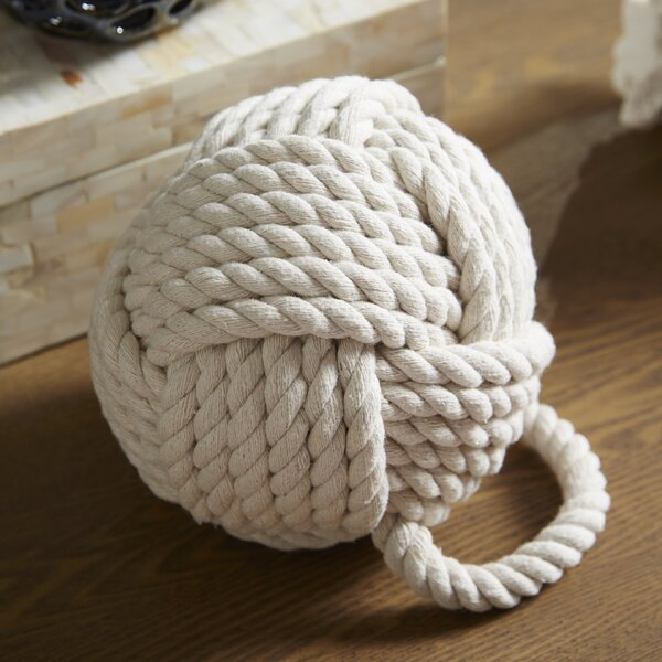 Rope Knot Door Wedge by Birch Lane™