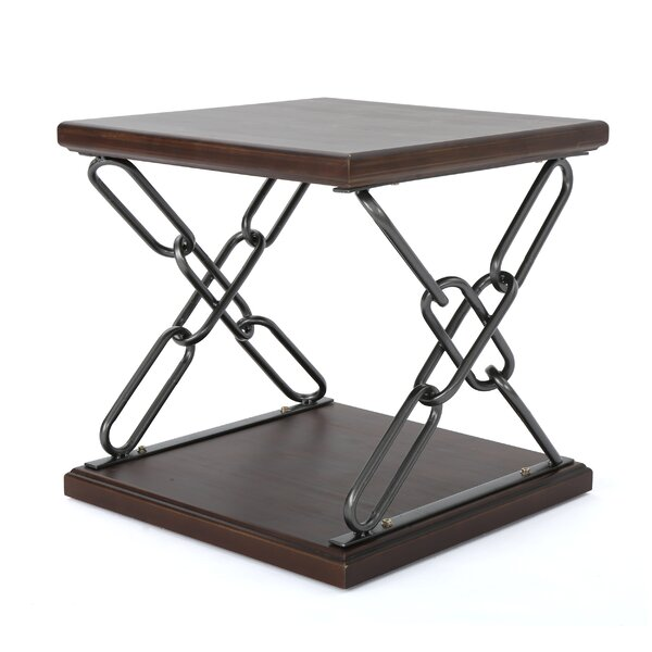 Glasgow End Table by Williston Forge Williston Forge