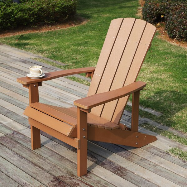 Mcfee Plastic Adirondack Chair by Rosecliff Heights Rosecliff Heights