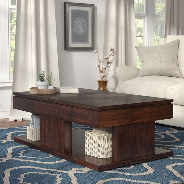 Janene Lift Top Coffee Table with Storage by Darby Home Co Darby Home Co