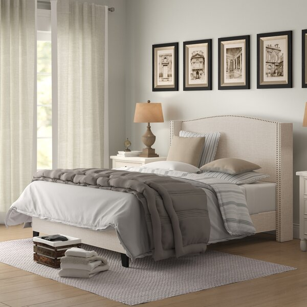 Cassandra Upholstered Standard Bed by Birch Lane Heritage Birch Lane™ Heritage