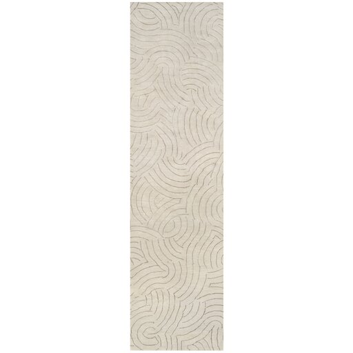 Dixon Ivory Area Rug by Latitude Run