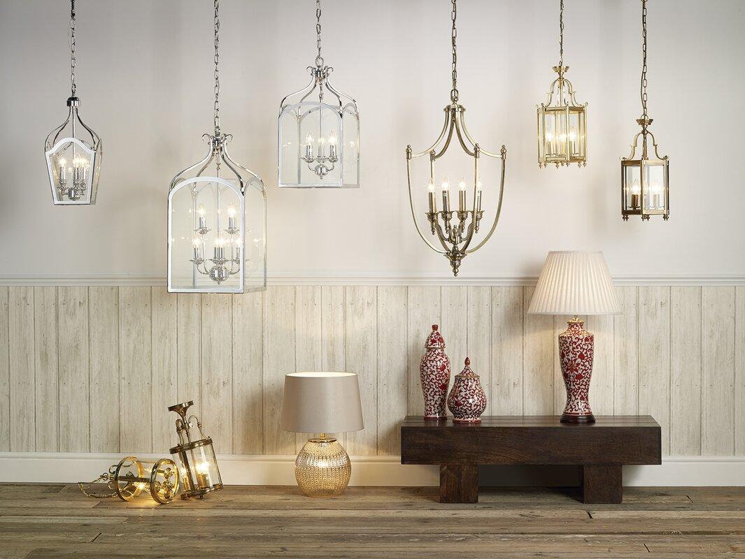 Dar lighting moorgate 3 light foyer pendant reviews wayfair moorgate 3 light foyer pendant aloadofball Image collections