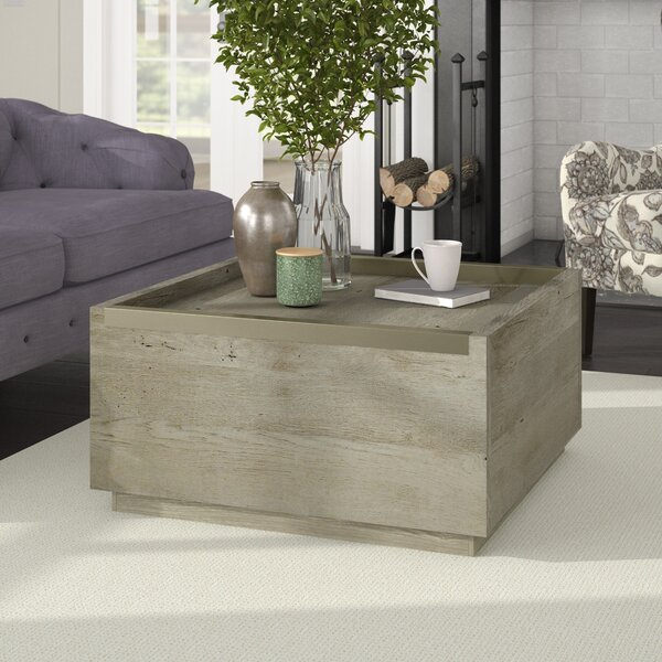 Tylor Coffee Table With Storage By Union Rustic