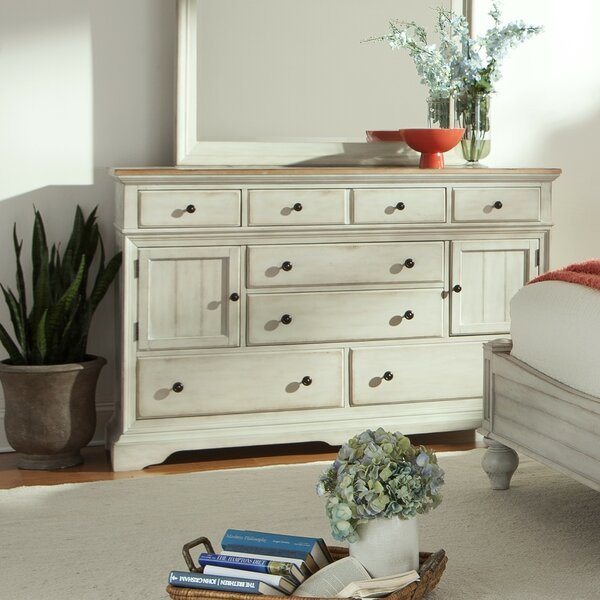 Review Yother 8 Drawer Combo Dresser