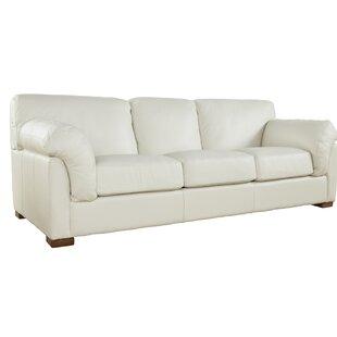 Woodby Genuine Leather Sofa
