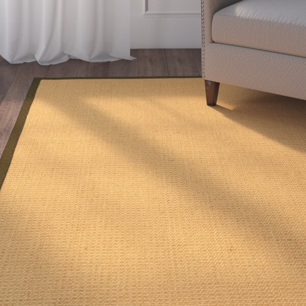 Buggs Hand Woven Brown Area Rug by Charlton Home