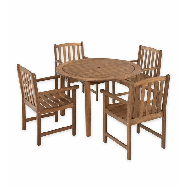 Lancaster 5 Piece Dining Set by Plow & Hearth