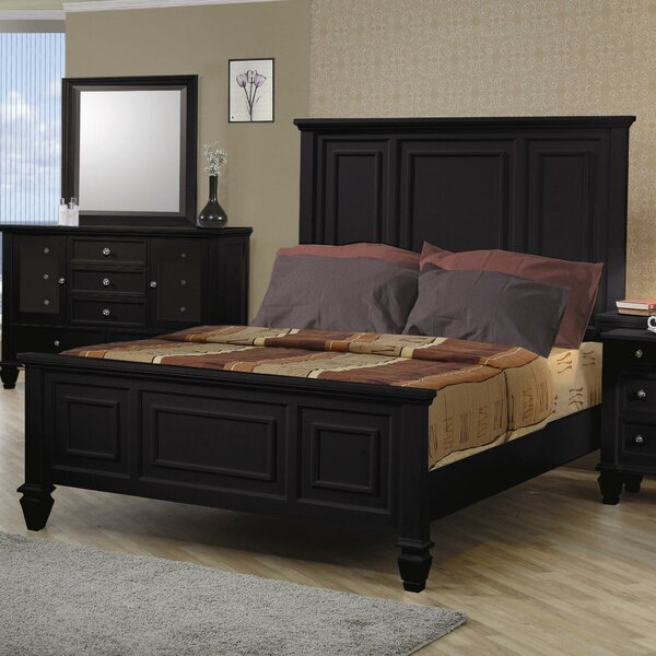 Ellis High Headboard Panel Bed by Darby Home Co