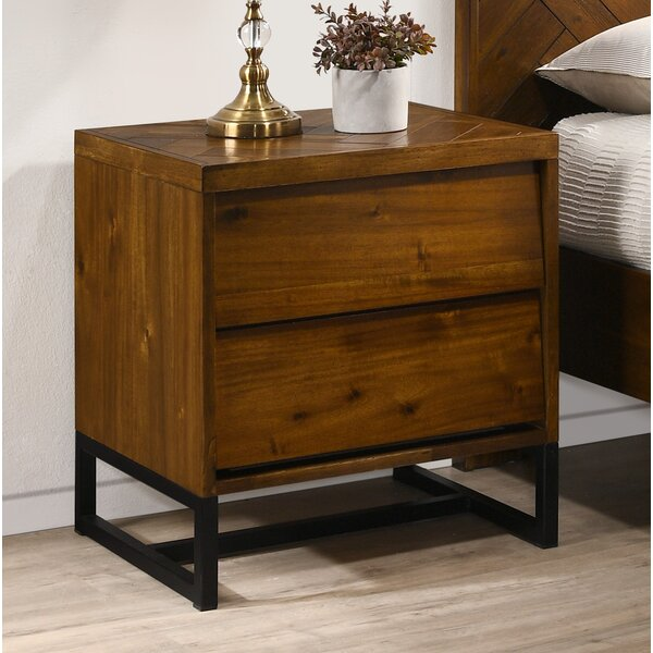 Bria 2 Drawer Nightstand by Foundry Select Foundry Select