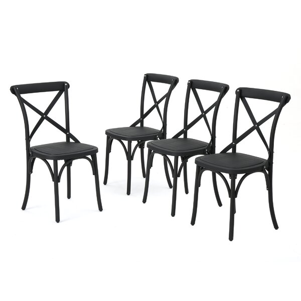 Kayleigh Patio Dining Chair (Set Of 4) By Gracie Oaks by Gracie Oaks New Design
