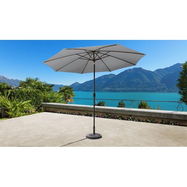 Outdoor 11' Market Umbrella By Kathy Ireland Homes & Gardens By TK Classics by kathy ireland Homes & Gardens by TK Classics Best Choices