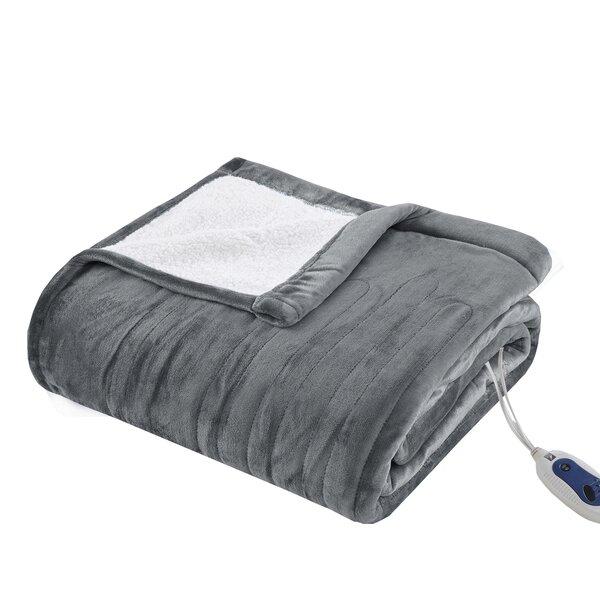 Plush Heated Blanket by Alwyn Home