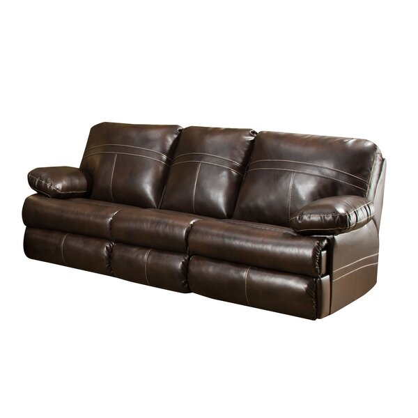 Simmons Upholstery Obryan Double Motion Reclining Sofa by Darby Home Co