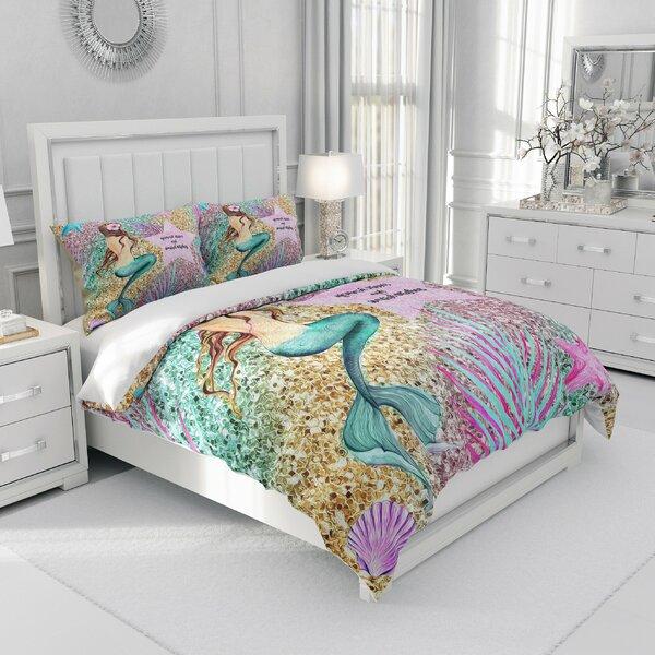Célia Pastel Mermaid Duvet Cover Set