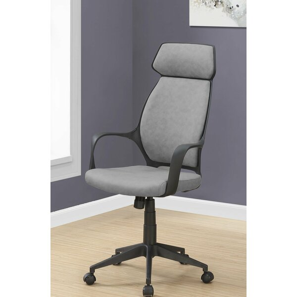 Kozlowski High Back Executive Office Chair by Symple Stuff